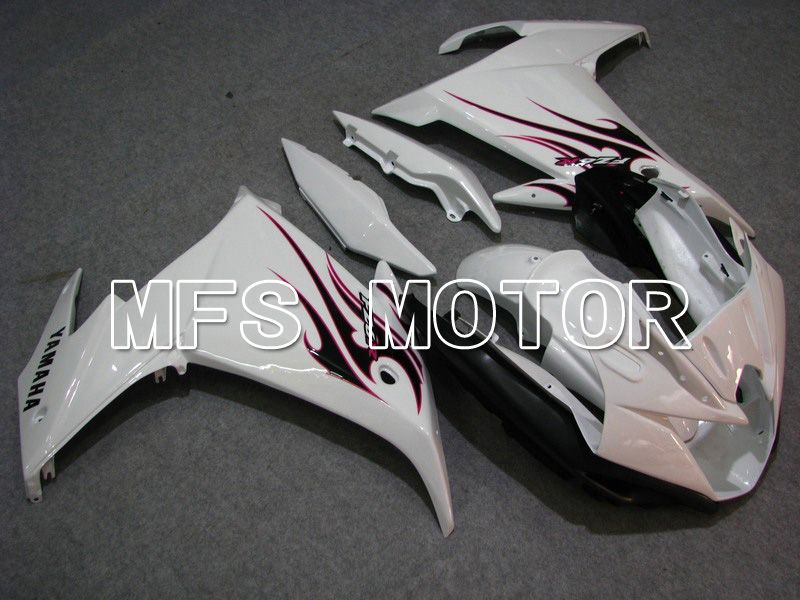 ABS Fairing For Yamaha FZ6R 2009 - Flame - White - MFS5850 - shopping and wholesale