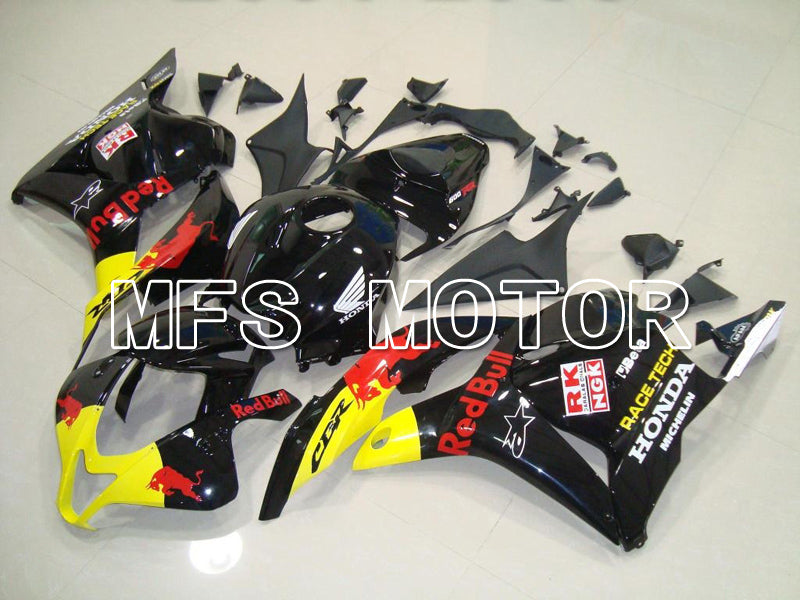 Injection ABS Fairing For Honda CBR600RR 2009-2012 - Red Bull - Yellow Black - MFS5864 - shopping and wholesale
