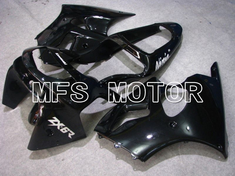 Carenatura ABS per Kawasaki NINJA ZX6R 1998-1999 - Factory Style - Nero - MFS5876 - shopping e ingrosso
