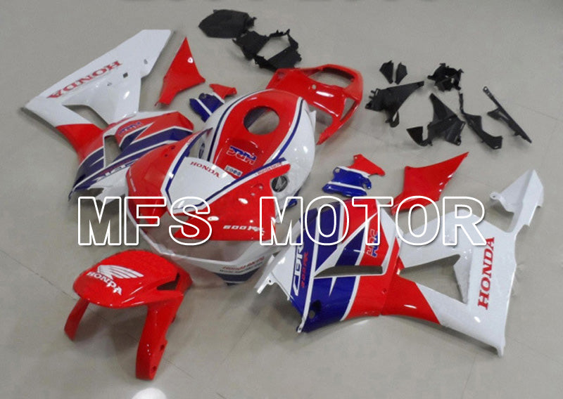 Injection ABS Fairing For Honda CBR600RR 2013-2017 - HRC - Red White - MFS5882 - shopping and wholesale