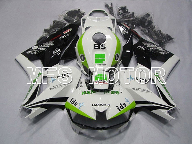Injection ABS Fairing For Honda CBR600RR 2013-2017 - HANN Spree - White Black - MFS5885 - shopping and wholesale