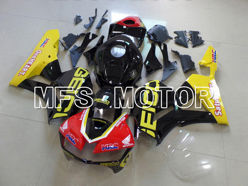 Injection ABS Fairing For Honda CBR600RR 2013-2017 - GEICO - Red Yellow Black - MFS5898 - shopping and wholesale