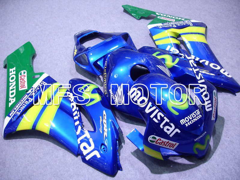 Injection ABS Fairing For Honda CBR1000RR 2004-2005 - Movistar - Yellow Green Blue - MFS5905 - shopping and wholesale