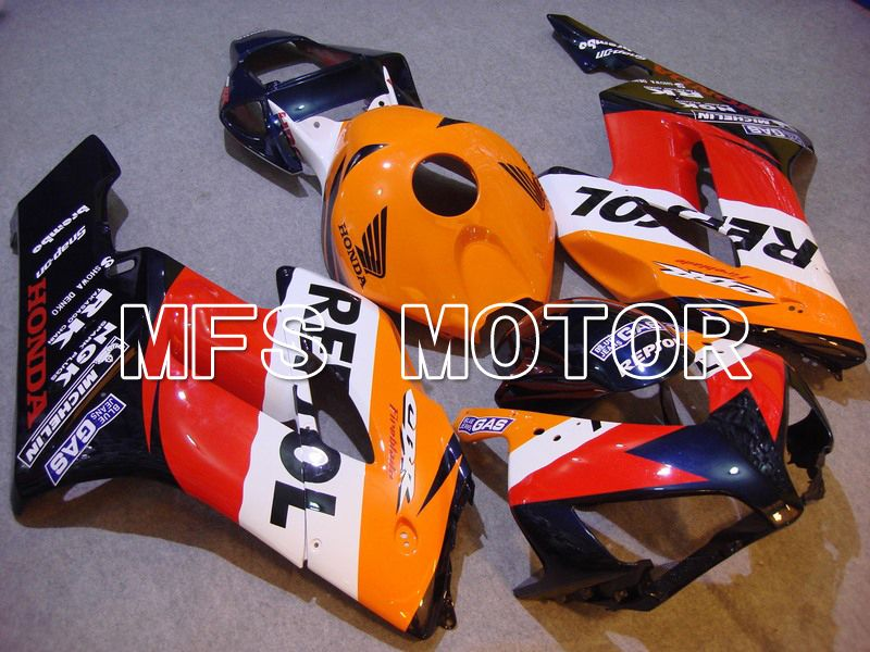 Injection ABS Fairing For Honda CBR1000RR 2004-2005 - Repsol - Red Orange Black - MFS5950 - shopping and wholesale