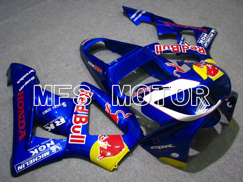 Injection ABS Fairing For Honda CBR900RR 929 2000-2001 - Red Bull - Blue - MFS5952 - shopping and wholesale