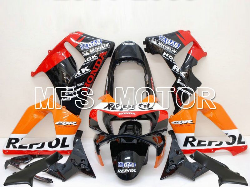 Injection ABS Fairing For Honda CBR900RR 929 2000-2001 - Repsol - Black Orange Red - MFS5959 - shopping and wholesale