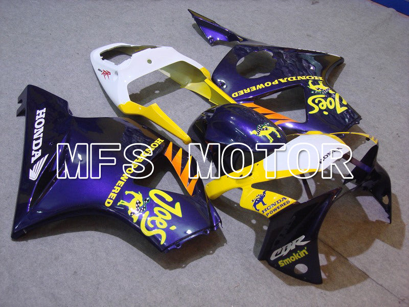 Injection ABS Fairing For Honda CBR900RR 954 2002-2003 - Camel - Blue Yellow - MFS5970 - shopping and wholesale