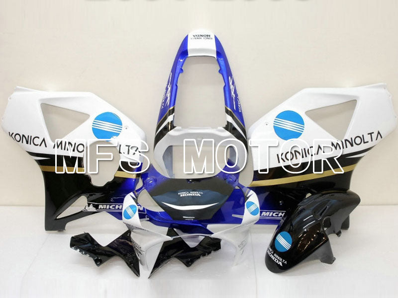 Injection ABS Fairing For Honda CBR900RR 954 2002-2003 - Konica Minolta - Black White - MFS5997 - shopping and wholesale