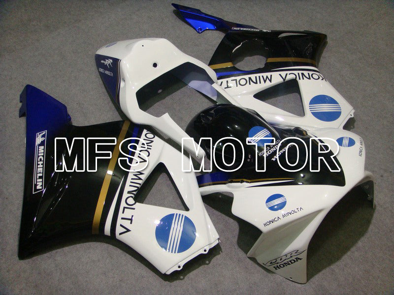 Injection ABS Fairing For Honda CBR900RR 954 2002-2003 - Konica Minolta - Black White - MFS6000 - shopping and wholesale