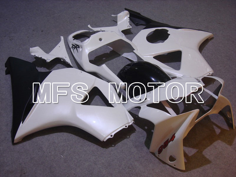 Injection ABS Fairing For Honda CBR900RR 954 2002-2003 - Factory Style - Black White - MFS6008 - shopping and wholesale