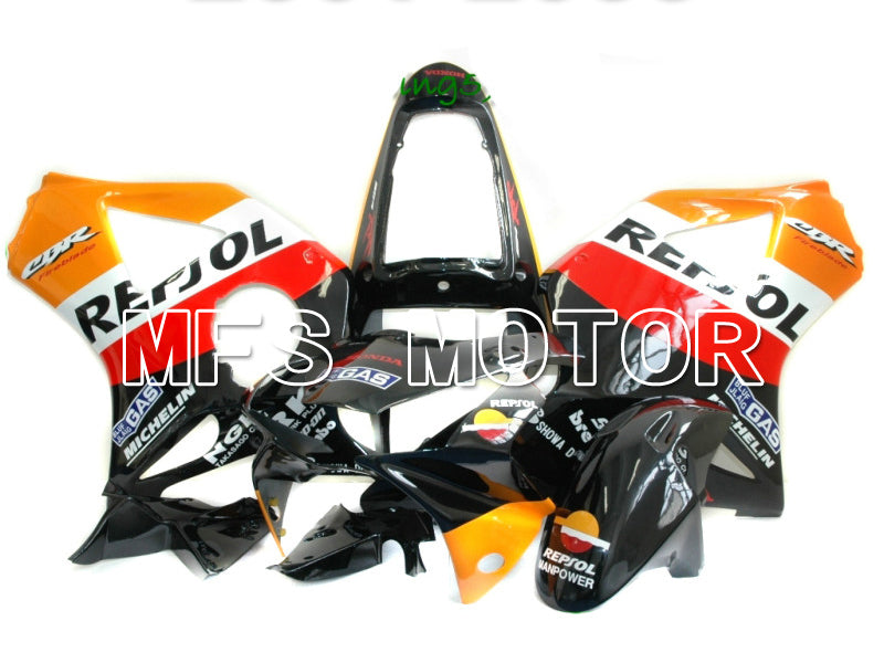 Injection ABS Fairing For Honda CBR900RR 954 2002-2003 - Repsol - Black Orange Red - MFS6019 - shopping and wholesale