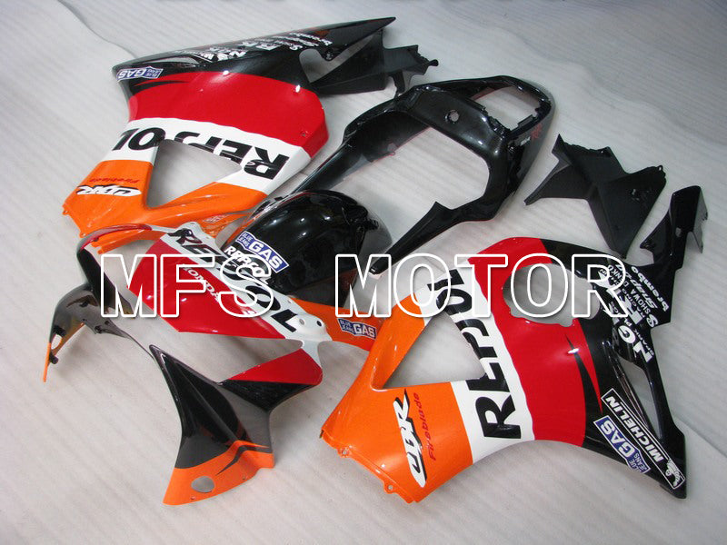 Injection ABS Fairing For Honda CBR900RR 954 2002-2003 - Repsol - Black Orange Red - MFS6021 - shopping and wholesale