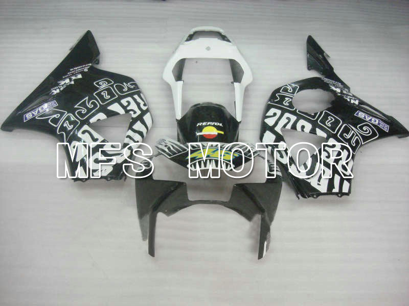 Injection ABS Fairing For Honda CBR900RR 954 2002-2003 - Rossi - Black White - MFS6029 - shopping and wholesale