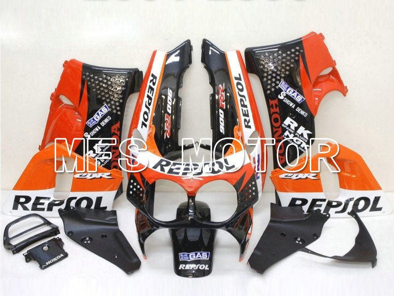 ABS Fairing For Honda CBR900RR 893 1992-1993 - Repsol - Black Red Orange - MFS6080 - shopping and wholesale