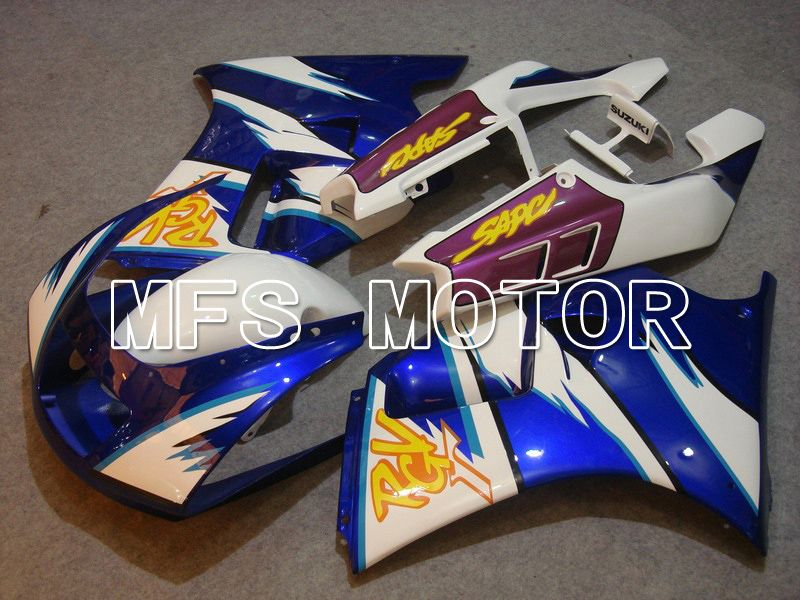 ABS Fairing For Suzuki RGV250 VJ22 1990-1995 - Factory Style - White Blue - MFS6197 - shopping and wholesale