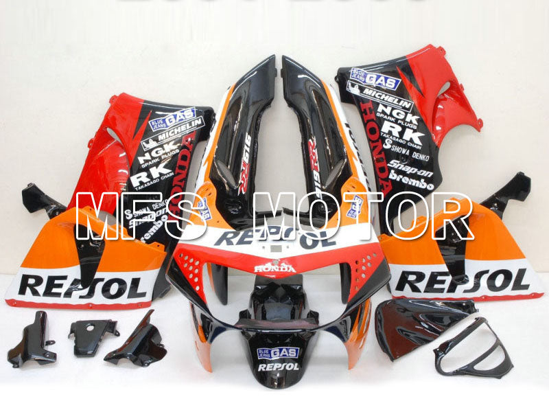 ABS Fairing For Honda CBR900RR 919 1998-1999 - Repsol - Black Red Orange - MFS6201 - shopping and wholesale
