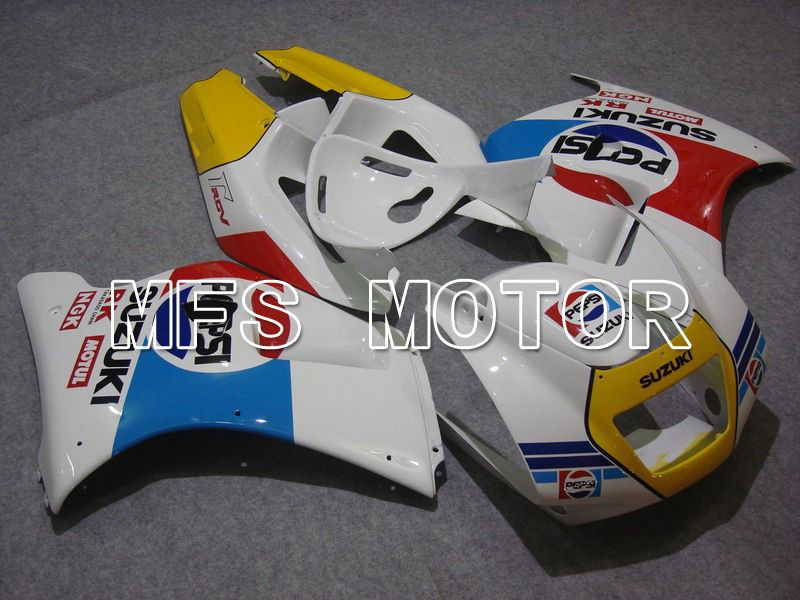 ABS Fairing For Suzuki RGV250 VJ22 1990-1995 - PEPSI - Hvid - MFS6202 - Shopping og engros
