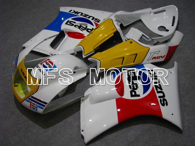 ABS Fairing For Suzuki RGV250 VJ22 1990-1995 - PEPSI - Hvid - MFS6203 - Shopping og engros