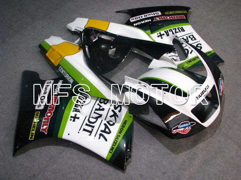 ABS Fairing For Suzuki RGV250 VJ22 1990-1995 - Rizla + - Hvid Sort - MFS6208 - Shopping og engros