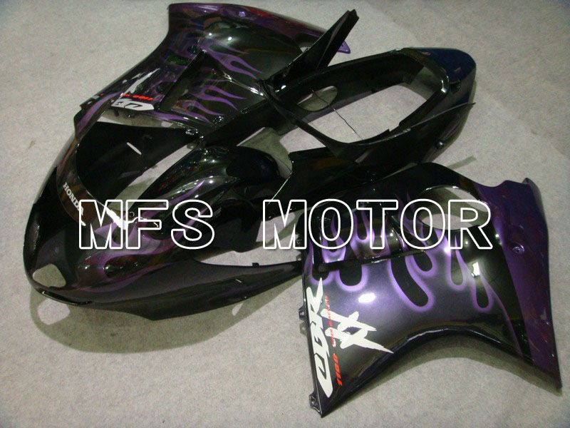 Injection ABS Fairing For Honda CBR1100XX 1996-2007 - Flame - Black Purple - MFS6213 - shopping and wholesale