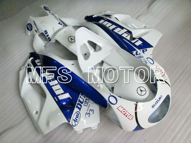 ABS Fairing For Suzuki RGV250 VJ23 1996-1999 - Jordan - Blå Hvid - MFS6217 - Shopping og engros