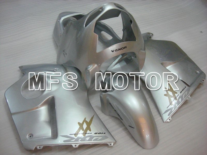 Injection ABS Fairing For Honda CBR1100XX 1996-2007 - Factory Style - Silver - MFS6220 - shopping and wholesale