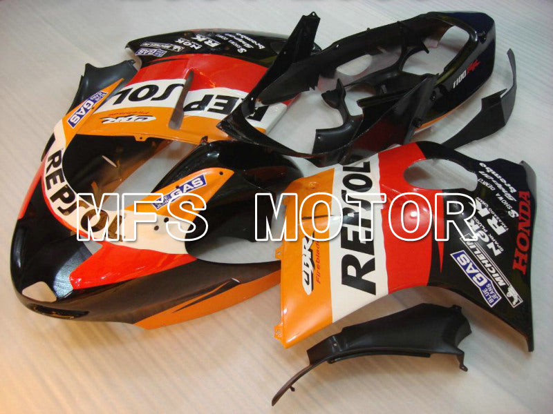Injection ABS Fairing For Honda CBR1100XX 1996-2007 - Repsol - Svart Orange Rød - MFS6222 - Shopping og engros