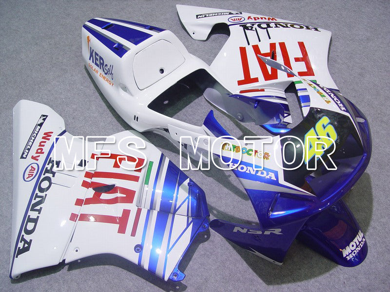 Injection ABS Fairing For Honda NSR250 MC21 1990-1993 - FIAT - Blåvit - MFS6227 - shopping och grossist