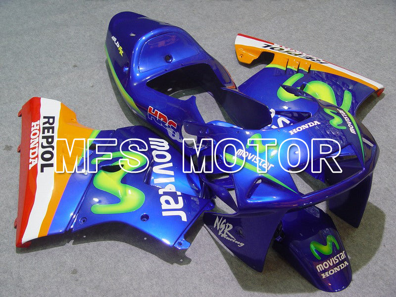 Injection ABS Fairing för Honda NSR250 MC21 1990-1993 - Movistar - Blå - MFS6231 - shopping och grossist