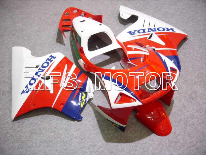Injection ABS Fairing för Honda NSR250 MC21 1990-1993 - Fabriksstil - Rödvit - MFS6233 - Shopping och grossist