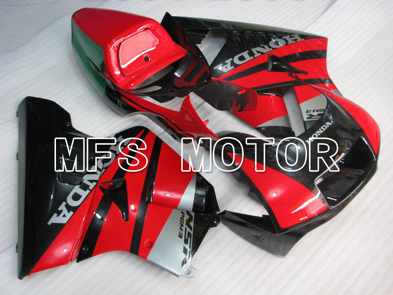 Injection ABS Fairing för Honda NSR250 MC21 1990-1993 - Fabriksstil - Röd Svart - MFS6240 - Shopping och grossist