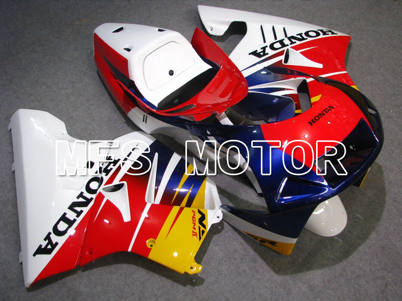Injection ABS Fairing For Honda NSR250 MC21 1990-1993 - Fabriksstil - Rödvit Blå - MFS6242 - Shopping och grossist