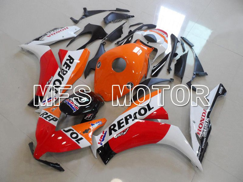 Injection ABS Fairing For Honda CBR1000RR 2012-2016 - Repsol - White Orange Red - MFS6249 - shopping and wholesale