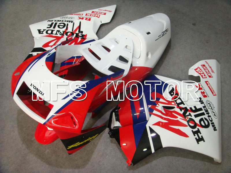 Injection ABS Fairing för Honda NSR250 MC28 P4 1994-1996 - Övriga - Vit Röd - MFS6258 - Shopping och grossist