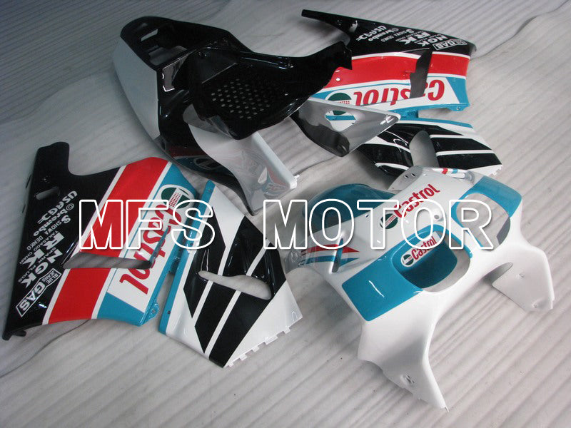 ABS Fairing For Honda RVF400R NC35 1994-1998 - Castrol - Black White - MFS6266 - shopping and wholesale