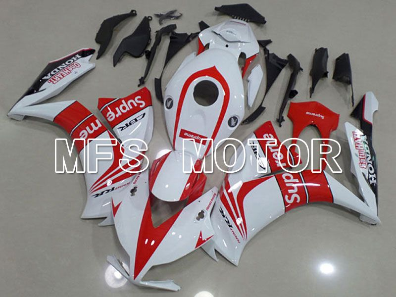 Injection ABS Fairing For Honda CBR1000RR 2012-2016 - Supreme - Red White - MFS6267 - shopping and wholesale