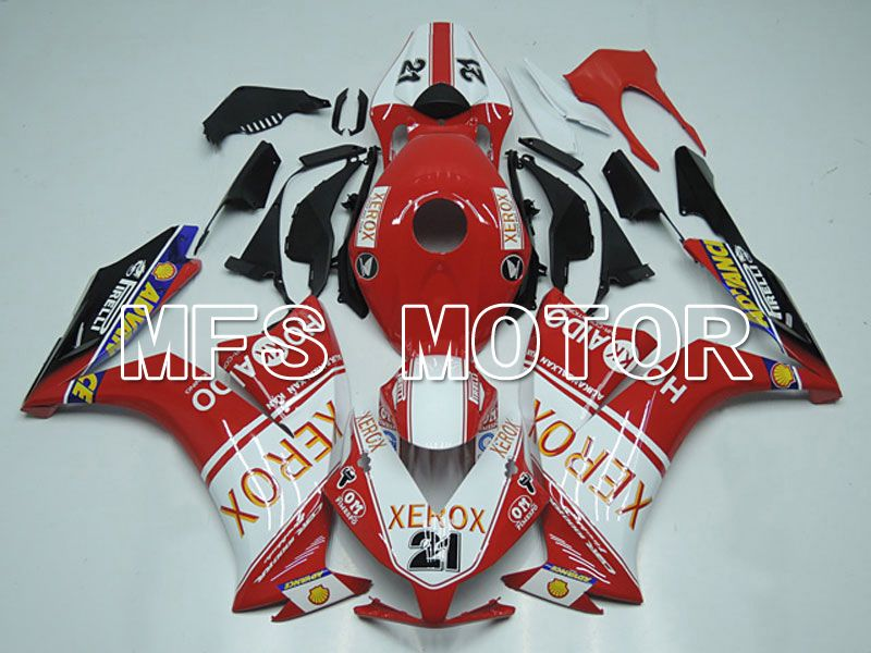 Injection ABS Fairing For Honda CBR1000RR 2012-2016 - Xerox - Red White - MFS6268 - shopping and wholesale