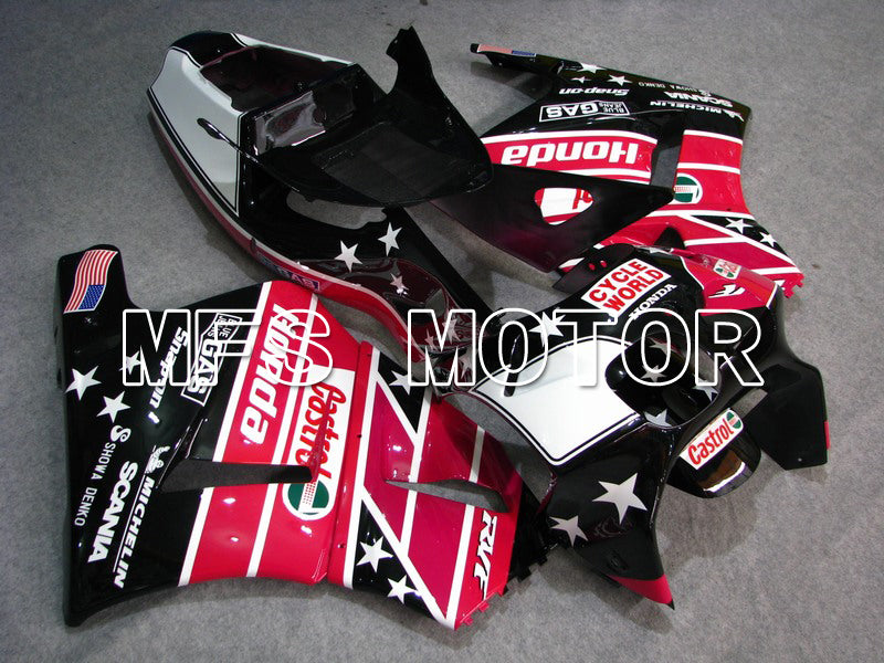 ABS Fairing For Honda RVF400R NC35 1994-1998 - Castrol - Black Pink - MFS6269 - shopping and wholesale