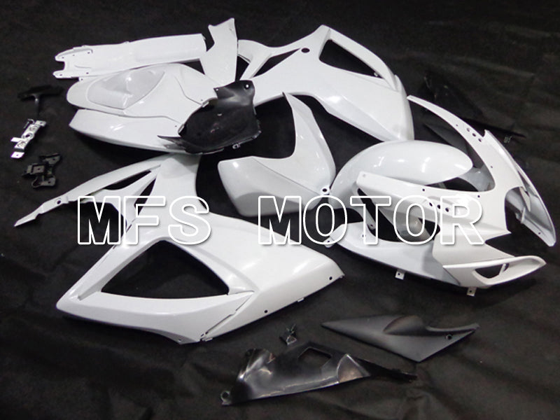 Injection ABS Unpainted Fairing For Suzuki GSXR600 GSXR750 2006-2007 K6 - Factory - White - MFS6278 - shopping and wholesale
