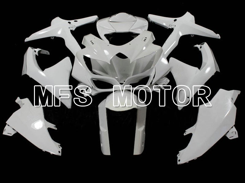 Injection ABS Unpainted Fairing For Suzuki GSXR600 GSXR750 2008-2010 K8 - Factory Style - White - MFS6284 - shopping and wholesale