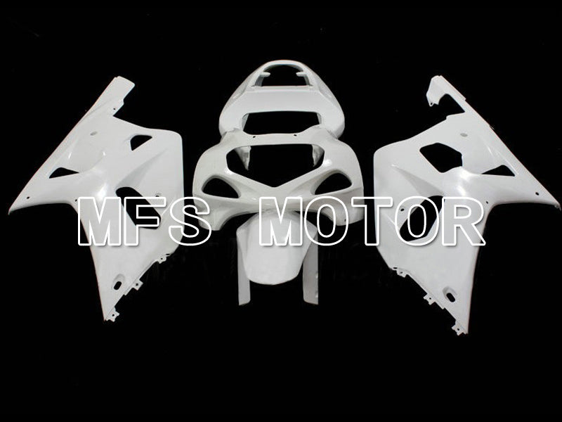Injection ABS Unpainted Fairing For Suzuki GSXR600 2001-2003 K1 K2 - Factory Style - White - MFS6292 - shopping and wholesale