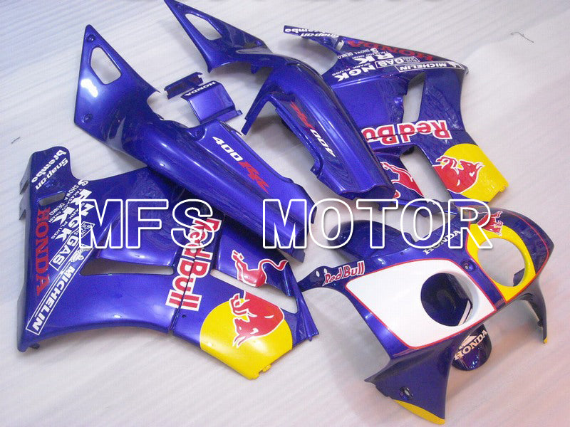 ABS Fairing For Honda VFR400R NC30 1990-1993 - Red Bull - Blue - MFS6298 - shopping and wholesale