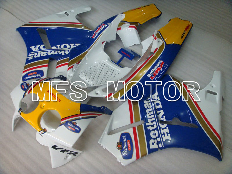 ABS Fairing For Honda VFR400R NC30 1990-1993 - Rothmans - Blue White - MFS6299 - shopping and wholesale