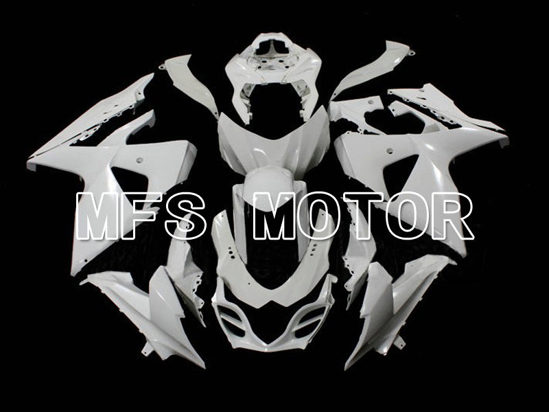 Injection ABS Unpainted Fairing For Suzuki GSXR1000 2009-2016 - Factory Style - White - MFS6300 - shopping and wholesale