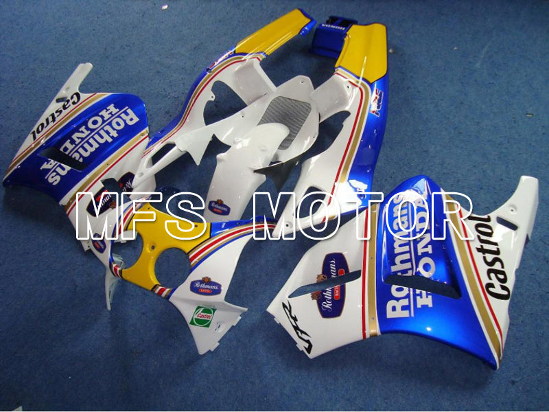 ABS Fairing For Honda VFR400R NC30 1990-1993 - Rothmans - Blue White - MFS6303 - shopping and wholesale