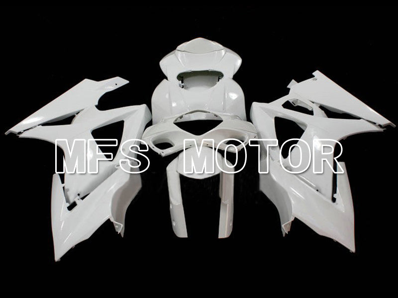Injection ABS Unpainted Fairing For Suzuki GSXR1000 2007-2008 - Factory Style - White - MFS6304 - shopping and wholesale