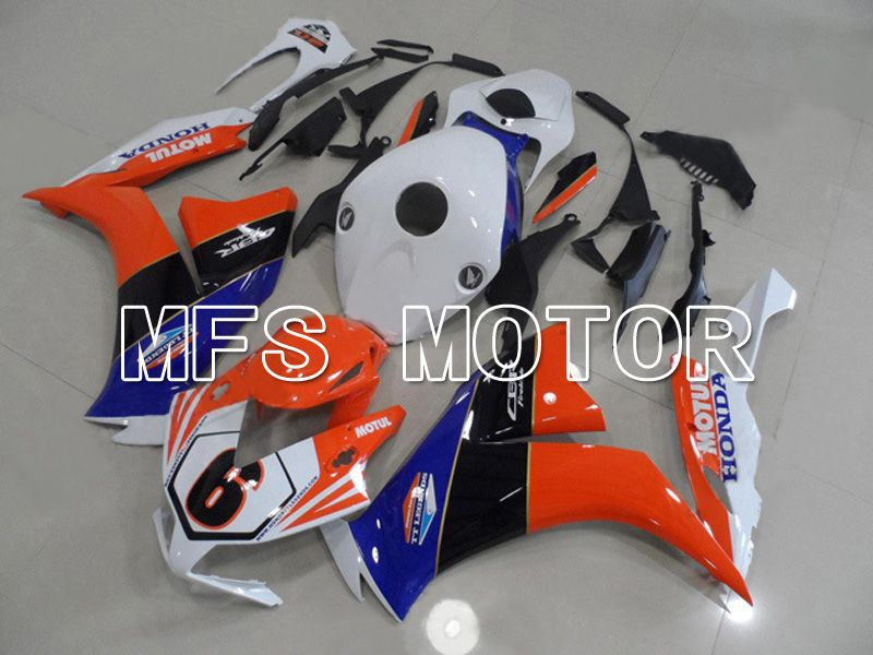 Injection ABS Fairing For Honda CBR1000RR 2012-2016 - MOTUL - White Orange - MFS6310 - shopping and wholesale