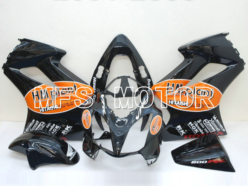 Injection ABS Fairing For Honda VFR800 2002-2013 - HM Plant - Sort - MFS6314 - Shopping og engros