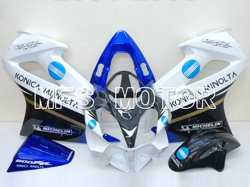 Injection ABS Fairing For Honda VFR800 2002-2013 - Konica Minolta - Svart Hvit - MFS6318 - Shopping og engros