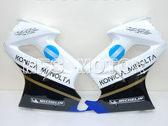 Injection ABS Fairing For Honda VFR800 2002-2013 - Konica Minolta - Black White - MFS6318 - shopping and wholesale